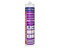 Герметик силиконовый санитарный белый Lacrysil (Лакрисил) 200 мл