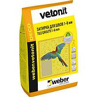Замазка для швов WEBER Vetonit Deco  1 белый 2 кг