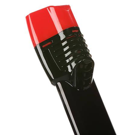 Трубка Seagard Easybreath для полнолицевой маски для плавания L/XL 24 см Черно-Красный (SUN1018), фото 2