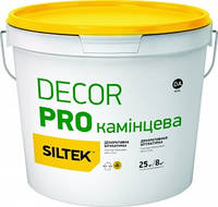 Штукатурка декоративная Siltek Decor Pro 1.5 мм камешковая 25 кг