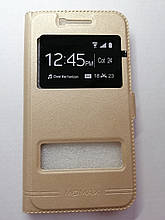 Чехол-книжка Samsung J5 J500 2015 Momax Gold