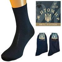 Носки мужские синие  без рисунка Житомир
