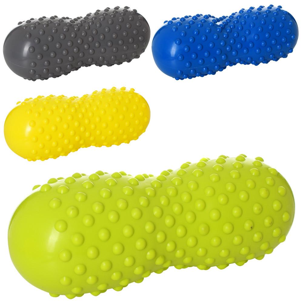 М'яч-арахіс для йоги та фітнесу MS 2350 масажний