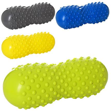 М'яч-арахіс для йоги та фітнесу MS 2350 масажний, фото 2