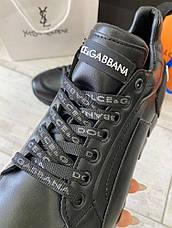 Сникеры Dolce Gabbana Super King Black, фото 3