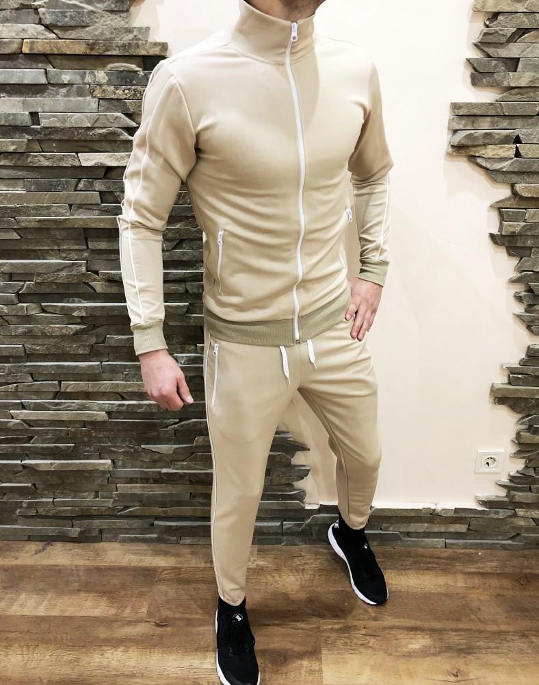 Спортивный костюм deuce бежевый