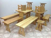 Столы, стулья, лавочки, скамейки из ясеня
