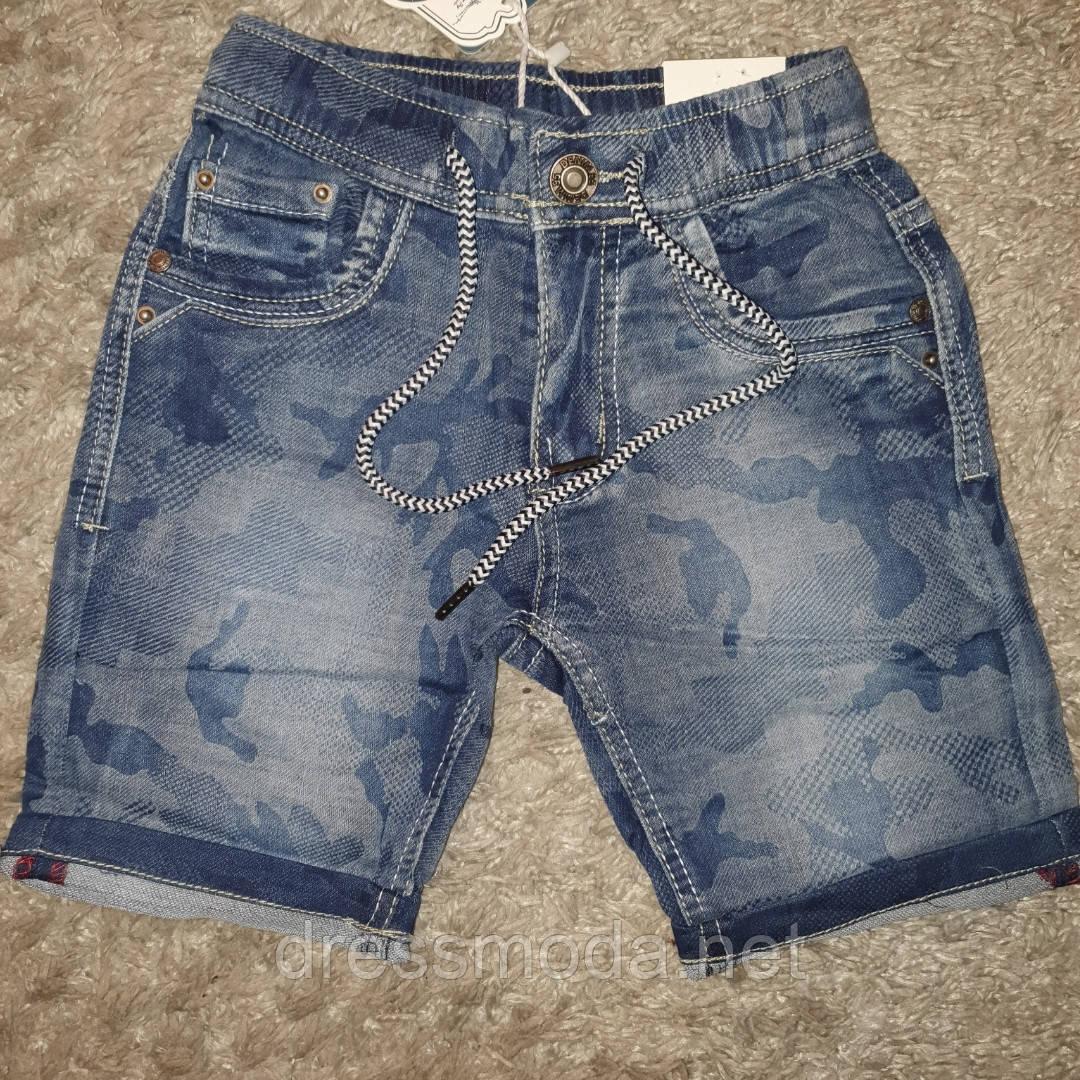 Джинсовые шорты для мальчиков S&D 4-14 лет