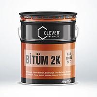 Двухкомпонентная гидроизоляция на битумной основе Clever Bitum 2K