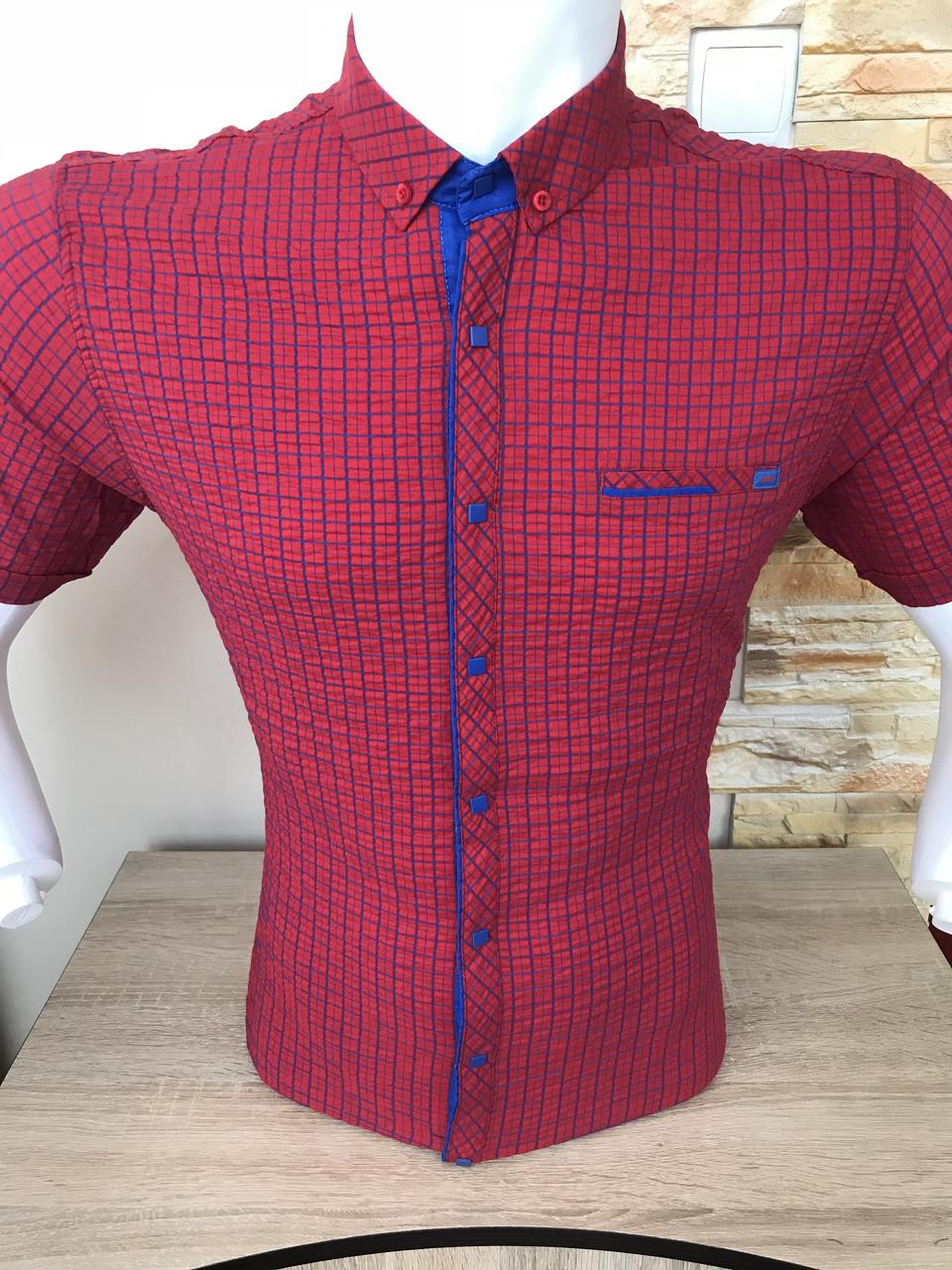 Рубашка короткий рукав Stendo жатка