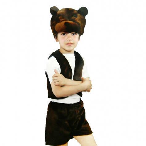 Детский костюм меховой Медведь, фото 2