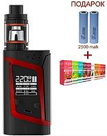 Электронная сигарета SMOK Alien Kit 220W. Вейп SMOK Alien Kit 220W.Бокс мод Элиан Кит 220 Вт красного цвета.