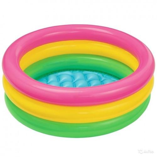 Детский надувной бассейн Intex 57107 Разноцветный (hub_CBVZ67995)