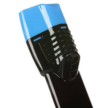 Трубка Seagard Easybreath для полнолицевой маски для плавания L/XL 24 см Черно-Синий (SUN1020), фото 2