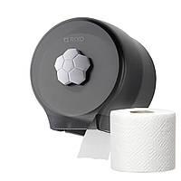 Диспенсер бумаги в рулонах Rixo Bello P127TB пластиковый черный матовый