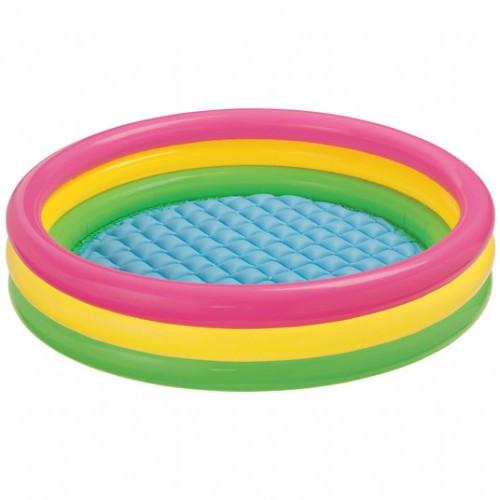 Надувний басейн для плавання Intex 57412 Різнобарвний (hub_rIha98249)
