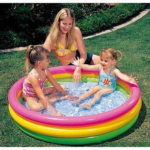 Надувний басейн для плавання Intex 57412 Різнобарвний (hub_rIha98249), фото 2