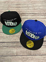 """Кепка рэп детская для мальчика """"Celtics"""" размер 52 см, цвета указывайте при заказе"""