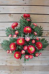 Искусственные цветы - Майор с дикой ромашкой композиция, 60 см