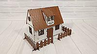 Домик для кукол LOL Сельский Домик с мебелью и светом