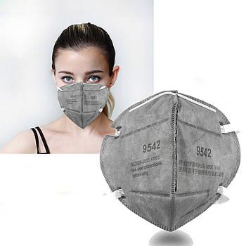 Защитная маска медицинская 3М распиратор 9542 Корея оригинал