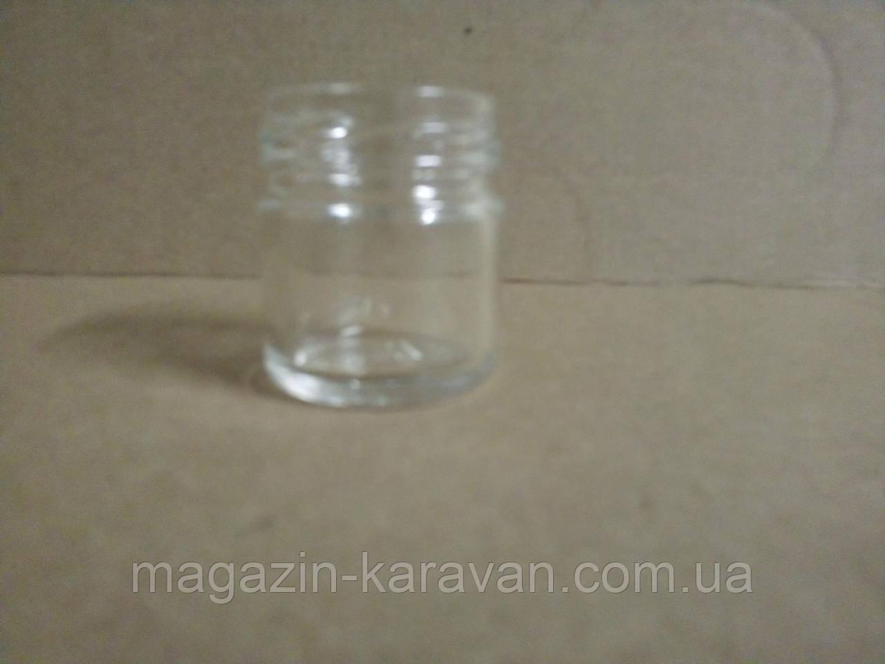 Банка стеклянная 40 мл ТО-43 (50 шт/уп)