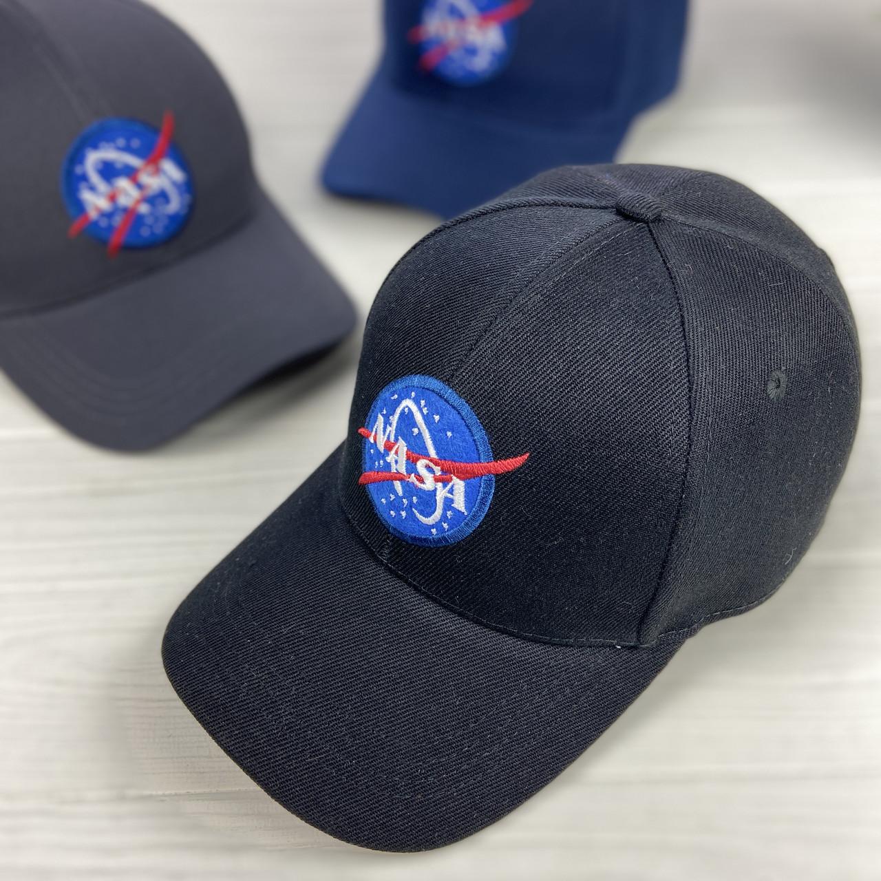 Бейсболка c  вышивкой NASA