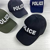 Кепка с вышивкой Police, фото 1