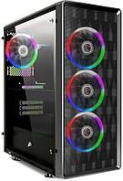 1stPlayer D8-A-R1 COLOR LED w/o PSU Black, фото 1