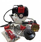 Бензокоса Assistant BK 52-5900 + мотобур + 200мм шнек (2 в 1). Бензокоса Асистент, фото 3