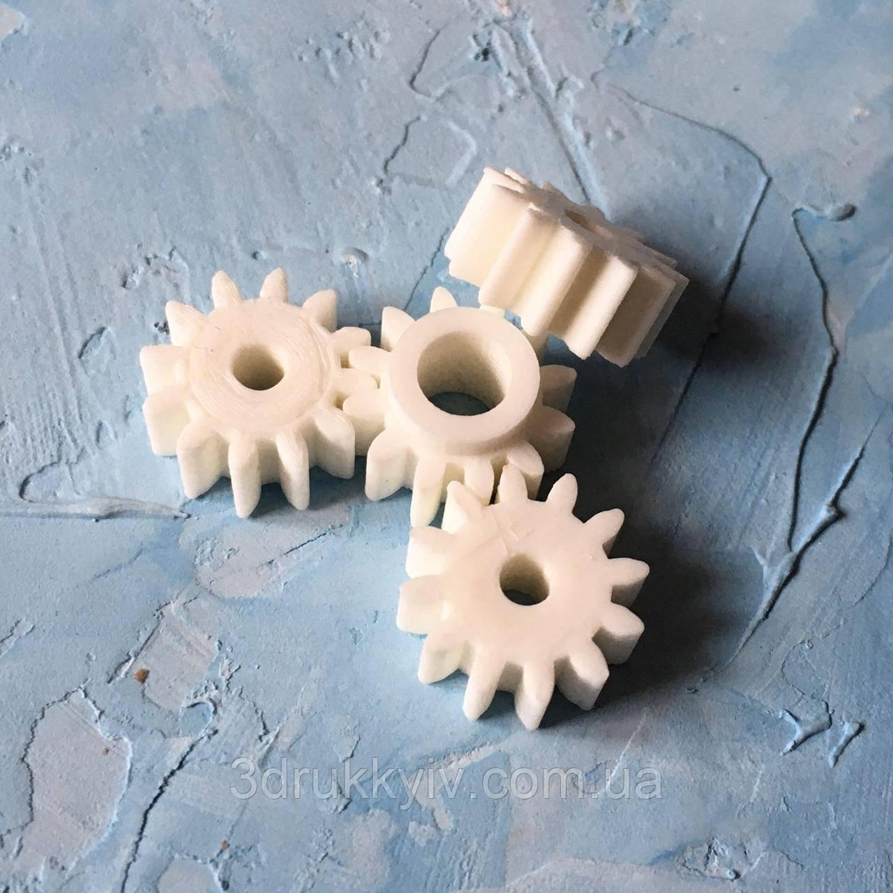 Шестерни для редуктора блендера 4 шт. / Шестерні редуктора блендера Philips 4 шт. та ін.