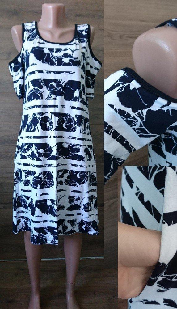 Платье вискоза с красивыми вырезами на плечах