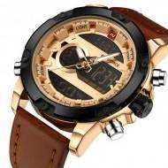 Часы Naviforce NF9097 Brown-Cuprum-Black
