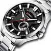 Часы Curren 8372 Silver-Black