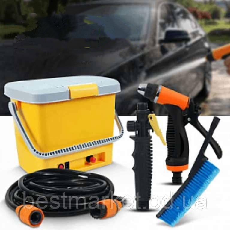 Портативная Автомойка от Прикуривателя High Pressure Portable Car Washer