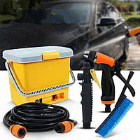 Портативная Автомойка от Прикуривателя High Pressure Portable Car Washer, фото 1