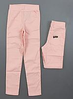 Подростковые розовые брюки на девочку