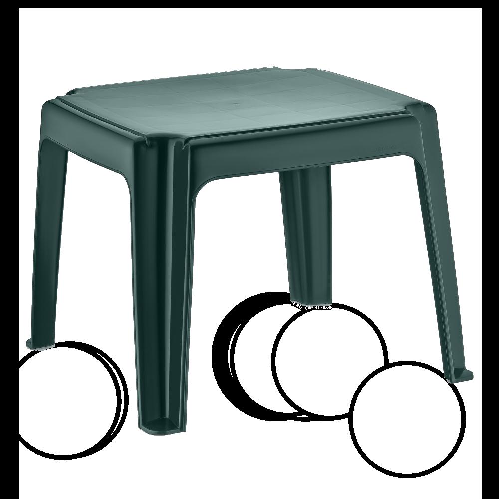 Столик для шезлонга Irak Plastik 45x45 зеленый