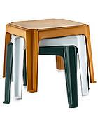 Столик для шезлонга Irak Plastik 45x45 зеленый, фото 2