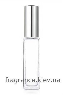 ПРОЗРАЧНЫЙ Флакон для парфюмерии ДЕЛАВЕР 8 мл. с металлическим спреем СЕРЕБРО СЕРЕБРО