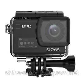 Екшн камера SJCAM SJ8 Pro full black box