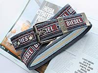 Мужской тканевый ремень Diesel синий, фото 1