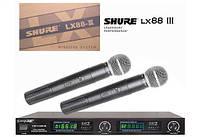 Радиосистема SHURE LX-88-III 2 микрофона, фото 1
