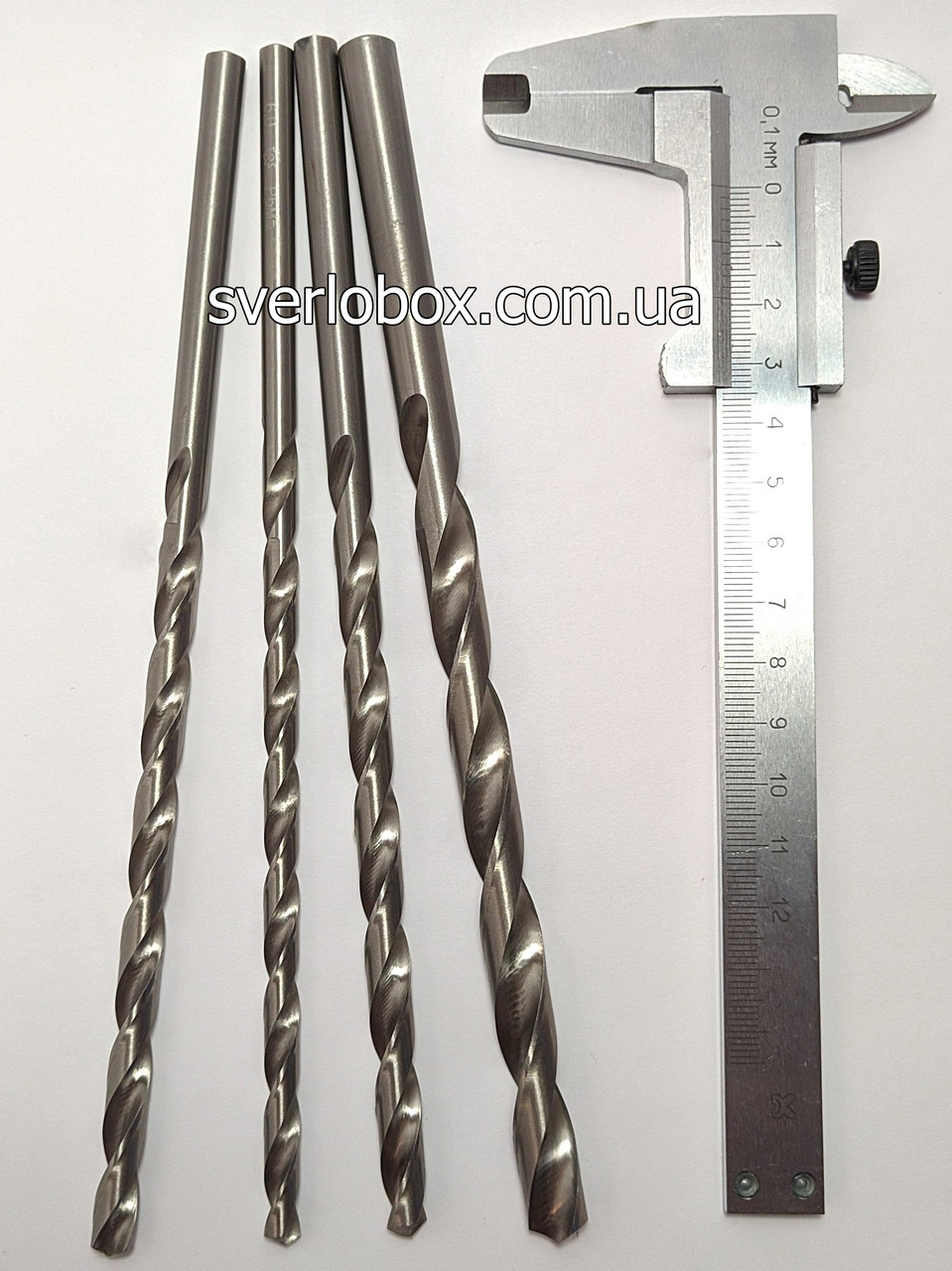 Свердло по металу D 2 mm. L200 mm.