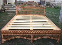 Кровать из лозы №1 (2х1,6 м.), фото 1