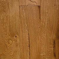 Паркетная доска Дуб Рустик Натур Селект Микс ширина 180 мм однополосная трёхслойная ОЛД ВИСКИ масло-воск фаска, фото 1