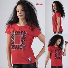 Футболка SOGO Турция люкс Новая коллекция! красная