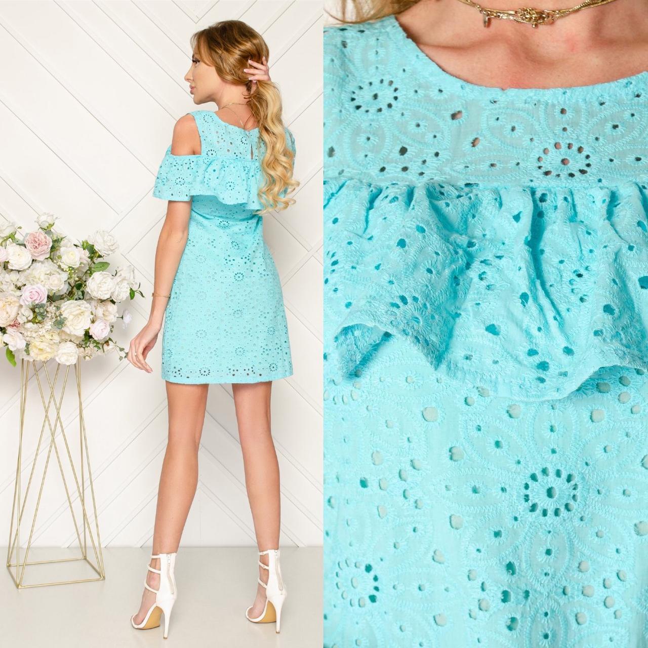 Прямое платье летнее 48