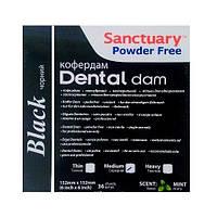 Платки для коффердама чёрные Dental Dam, фото 1