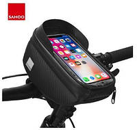 """Велосумка на руль для смартфона до 6.5"""" Roswheel Sahoo 112003 1.5L"""